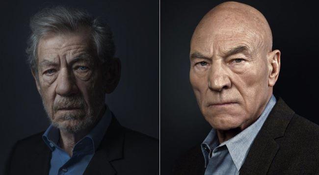 Sir Ian McKellen / Sir Patrick Stewart