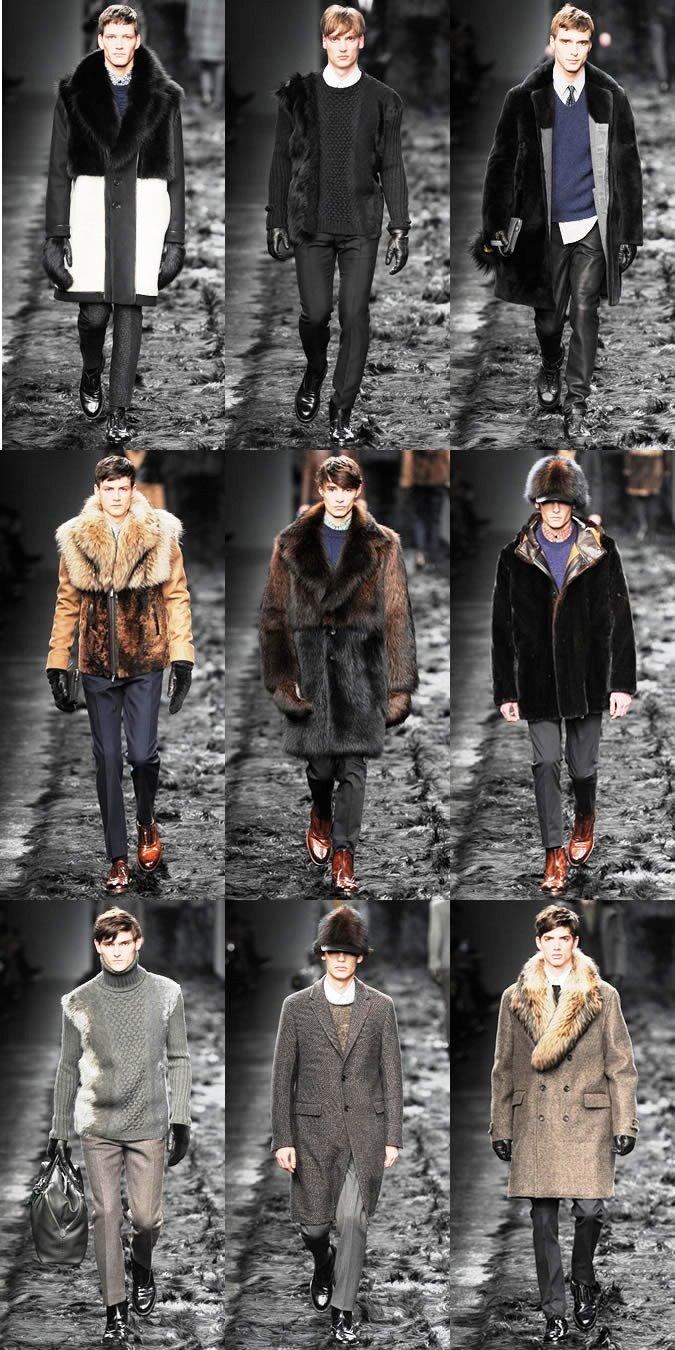 Fendi Fur Show
