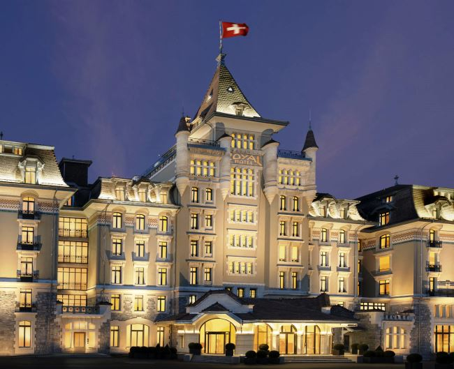 The Grande Swiss Dame - Hotel Royal Savoy