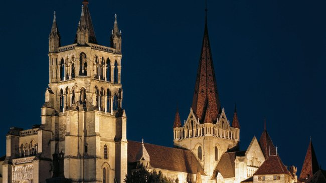 The Cathedral Of Lausanne