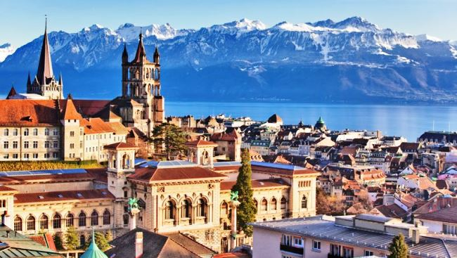 The City Of Lausanne