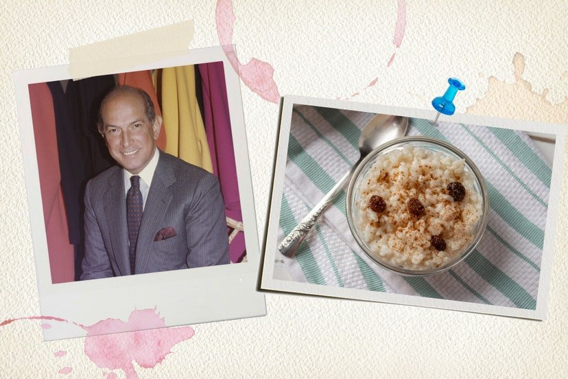 Oscar De La Renta Favourite Food