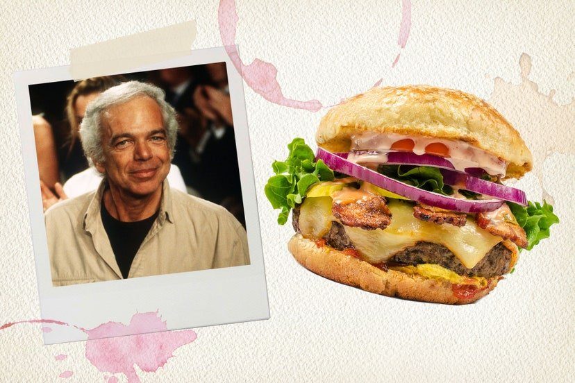 Ralph Lauren Favourite Food