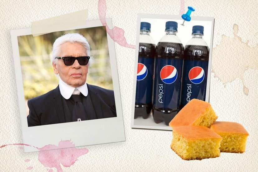 Karl Lagerfeld´s Favourite Food
