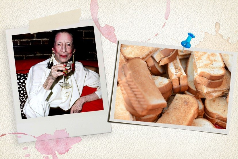 Diana Vreeland Favourite Food