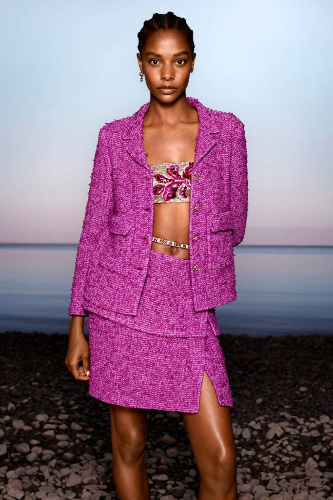 Chanel - Bold Colours Meet Classic Textures
